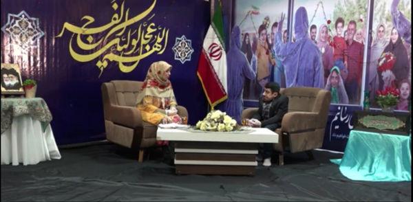 """از آرزوی سفر به کربلا تا عاشق شدن """"هادی عرب"""" فعال رسانه ای استان گلستان+فیلم"""