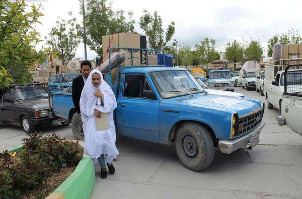 آغاز زندگی مشترک ۱۰ زوج گلستانی با جهیزیه بنیاد برکت