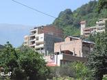 رویش قارچ گونه ساختمان ها در روستای زیارت