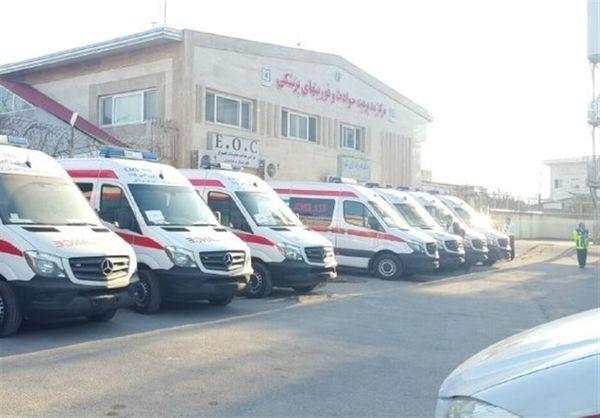 اورژانس استان گلستان بیش از ۱۷۰۰ ماموریت انجام داده است