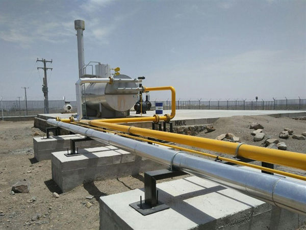 افتتاح و کلنگ زنی 228 طرح شرکت گاز گلستان در دهه فجر