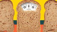 هر نوع نان یک کف دستش چقدر کالری دارد؟