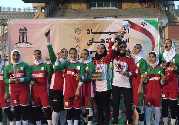 پنج گلستانی در فهرست برترین های راگبی ایران