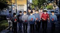 فیلم/ جشن خیابانی متفاوت برای امام حسن(ع)