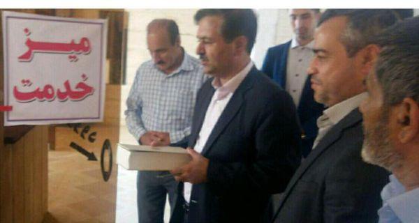 افتتاح دفتر میز خدمت فرمانداری شهرستان کلاله