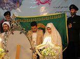 تصاویر/ جشن بزرگ ازدواج 25 زوج جوان روستای سرکلاته خرابشهر