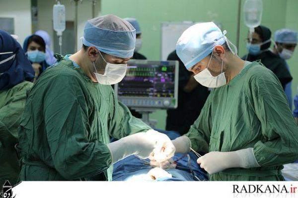 انجام عمل جراحی سخت غیر قلبی بیمار مبتلا به سندرم آیزن منگر در بیمارستان صیاد گرگان
