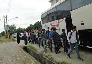 اعزام ۳۵ دانش آموز گلستانی به اردوی بنیادعلوی