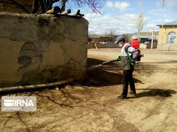 عزم روستائیان گلستان برای مهار کرونا