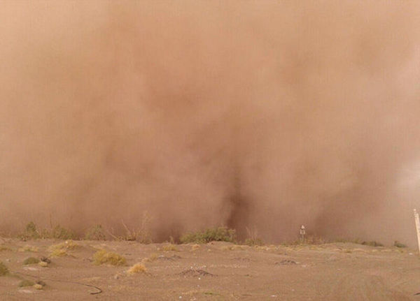 وقوع گرد و غبار محلی در شمال گلستان از عصر امروز