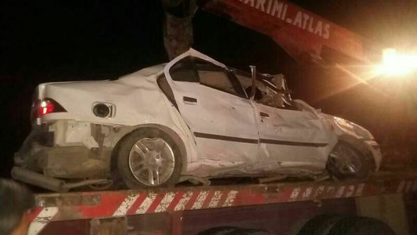تصادف مرگبار در محور جاده قدیم گرگان _ کردکوی