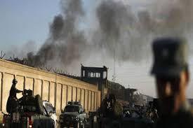 فیلم/ حمله افراد مسلح به دانشگاه کابل
