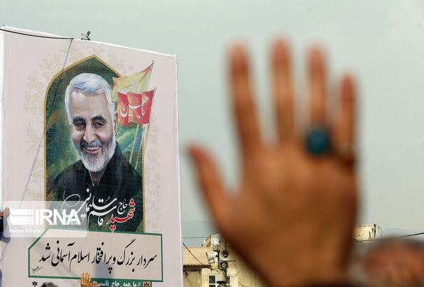 برگزاری اربعین سردار سلیمانی در گرگان و چند خبر کوتاه