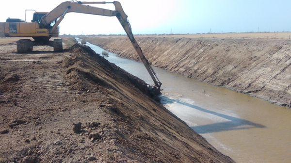 اجرای زهکشی ۳۶ کیلومتر از اراضی ۴ شهرستان گلستان