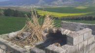 تخریب و قلع و قمع ٢ بنای غیرمجاز در روستاهای گالیکش