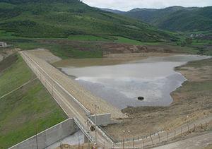 کاهش حجم آب سدهای استان گلستان