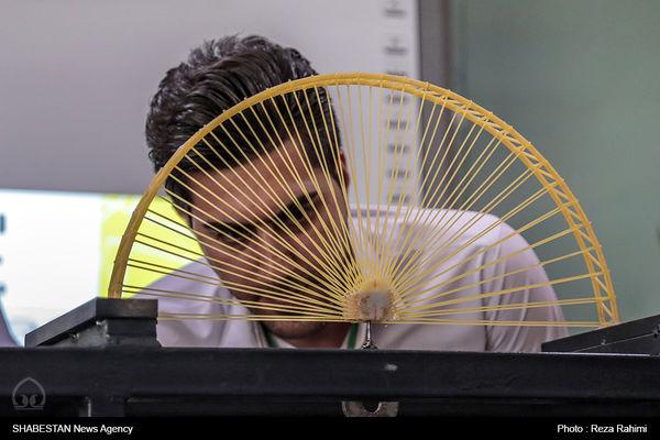 مسابقات سازه های ماکارونی در گرگان